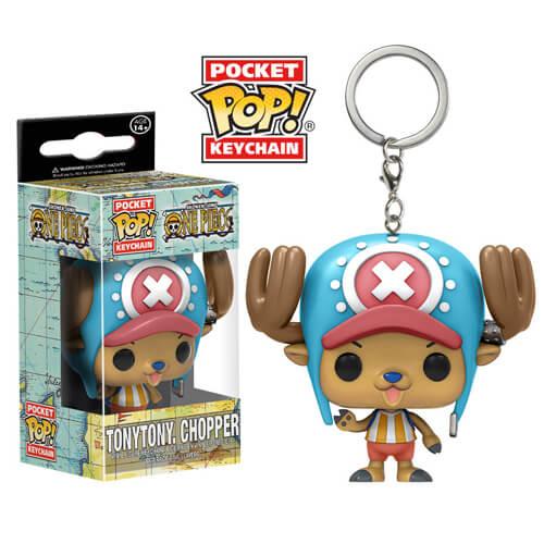 One Piece Chopper Pocket Pop! Keychain