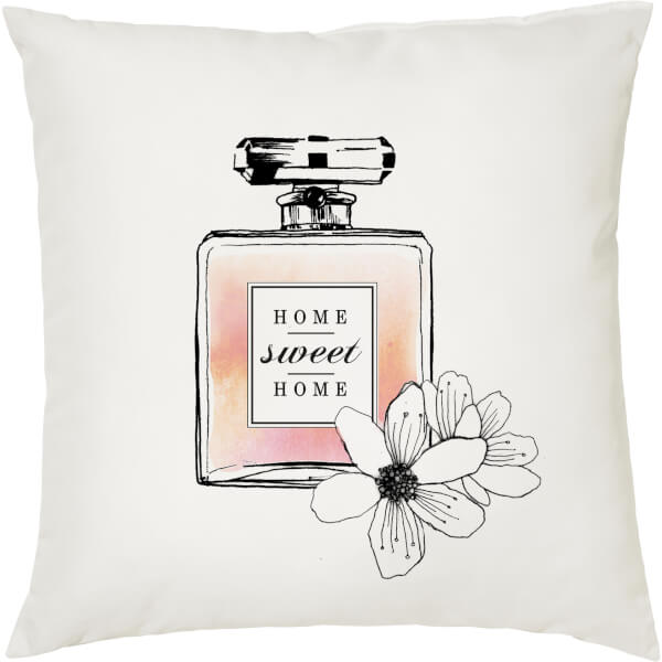 Home Sweet Home Cushion - White (45 x 45cm)