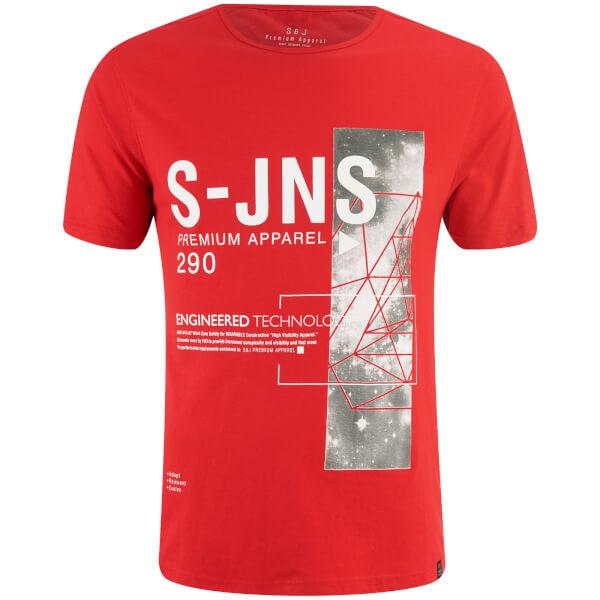 Smith & Jones Men's Langchor T-Shirt - Red