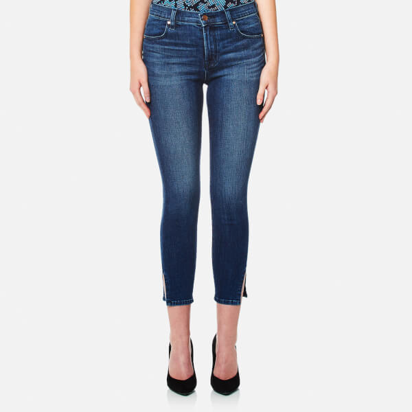 J Brand Women's Alana High Rise Crop Skinny Jeans - Cover: Image 1