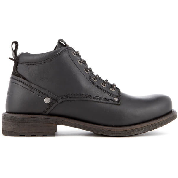 Wrangler Men's Hill Lace Up Boots - Black