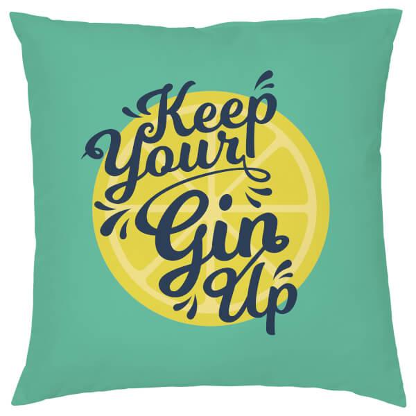 Keep Your Gin Up Cushion