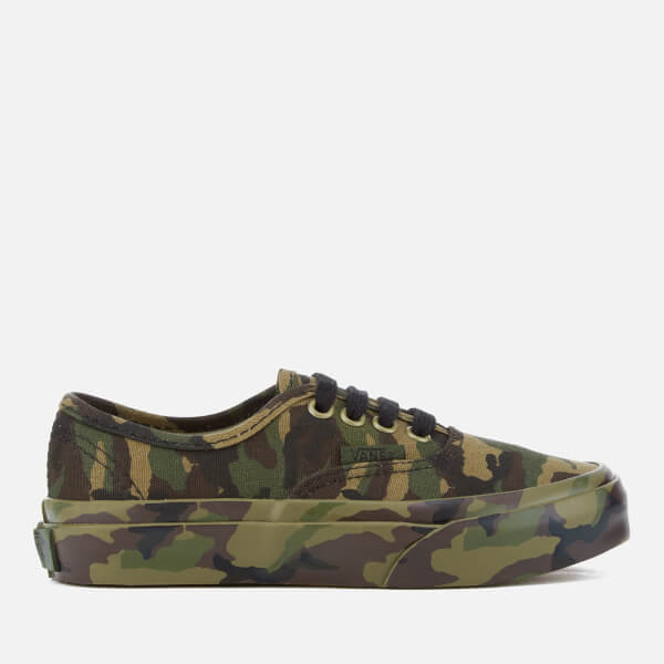 Vans Kids' Authentic Mono Print Trainers - Classic Camo