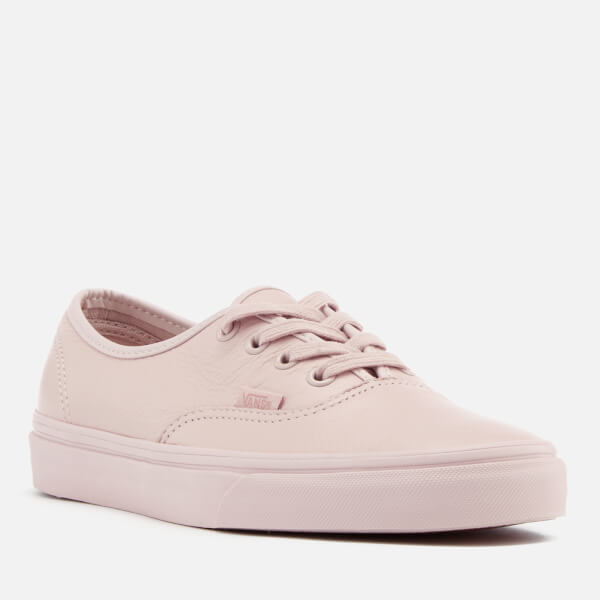 8bd75a8c1b2 Vans Women s Authentic Leather Trainers - Mono Sepia Rose  Image 2
