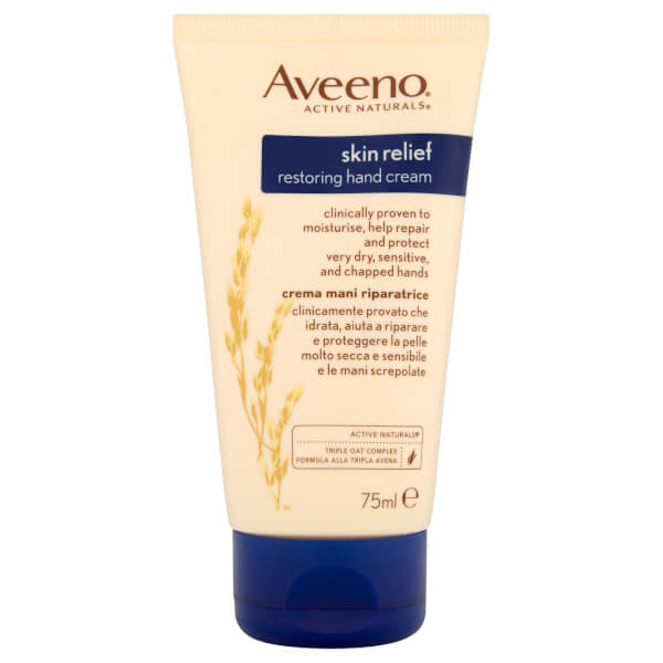 Aveeno Skin Relief Restore and Protect Hand Cream 75ml