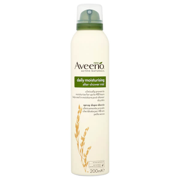 Aveeno Daily Moisturising After Shower Mist Spray 200ml