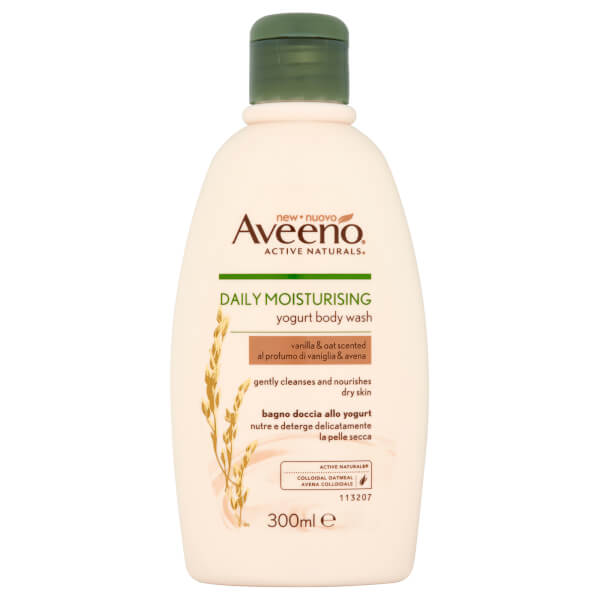 Aveeno Daily Moisturizing Body Wash - Vanilla and Oat 300ml