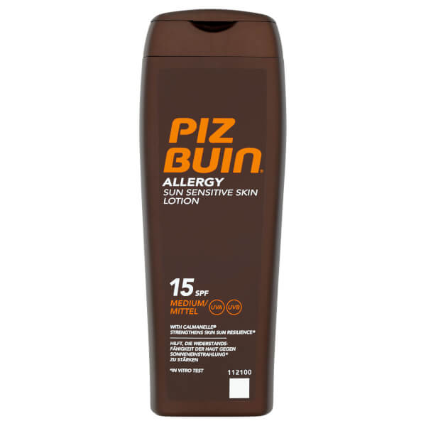 Piz Buin Allergy Sun Sensitive Skin Lotion - Medium SPF15 200ml