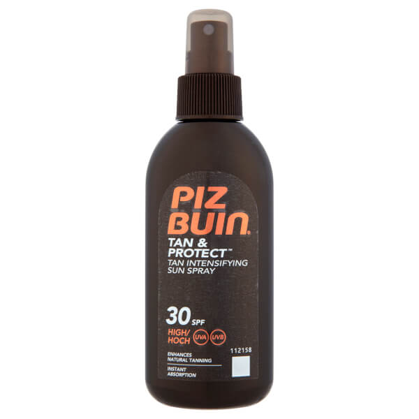 Piz Buin Tan & Protect Tan Intensifying Sun Spray - High SPF30 150ml