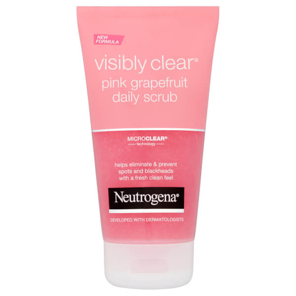Neutrogena Visibly Clear Pink Grapefruit Daily Scrub 150ml