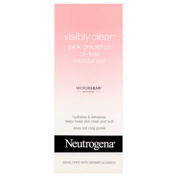 Neutrogena Visibly Clear Pink Grapefruit Oil-Free Moisturizer 50ml