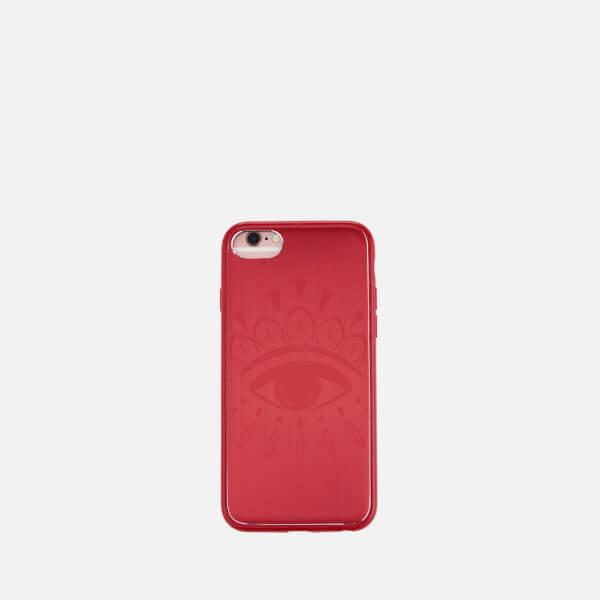 KENZO Women's Coque iPhone Big Eye Alu Case - Medium Orange