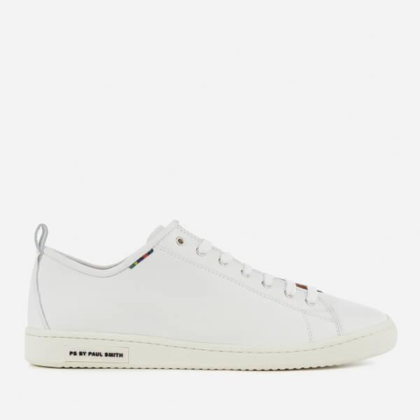 PS by Paul Smith Men's Miyata Leather Trainers - White: Image 1