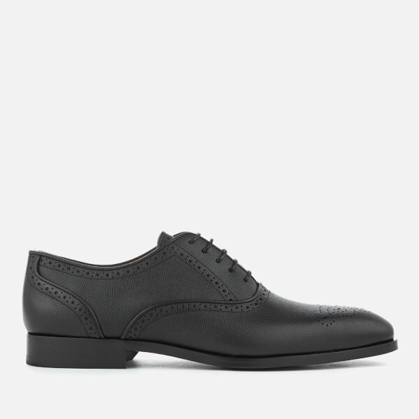 PS by Paul Smith Men's Gilbert Grain Leather Brogues - Black