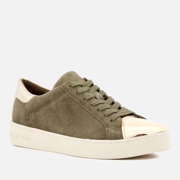 Michael Kors Women's Frankie Low Top Trainers - Olive/Gold - US 6/UK 3 v2XMLmywY2