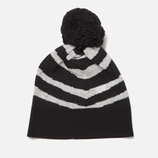 Paul Smith Women's Zebra Hat - Black