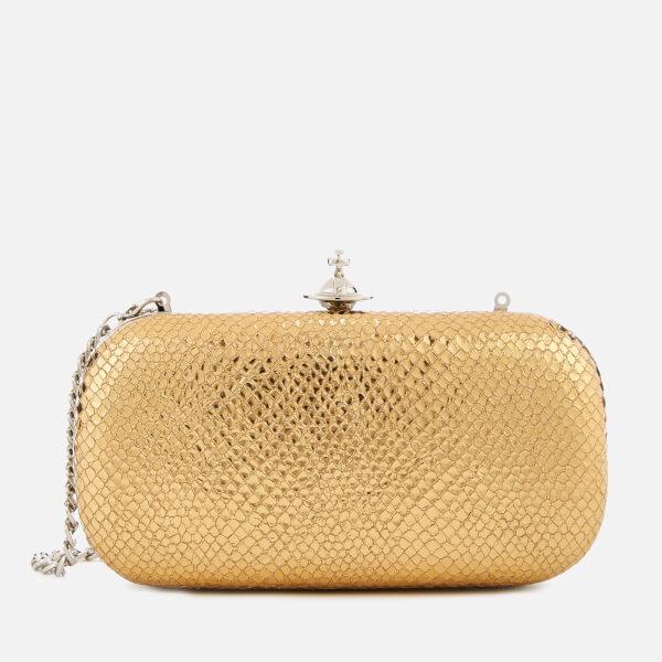 Vivienne Westwood Women's Verona Medium Clutch Bag - Gold