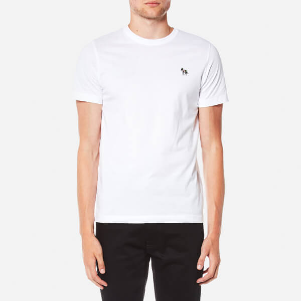 PS by Paul Smith Men's Zebra Logo T-Shirt - White
