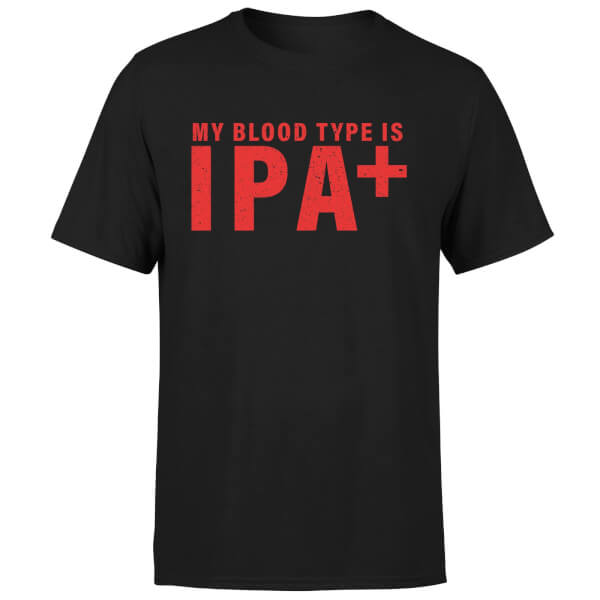 Beershield My Blood Type Men's T-Shirt