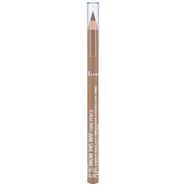 Rimmel Brow This Way Fibre Pencil 1.1g (Various Shades)