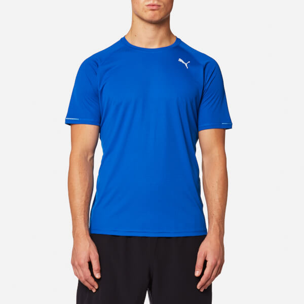 Puma Men's Core-Run Short Sleeve T-Shirt - Lapis Blue: Image 1