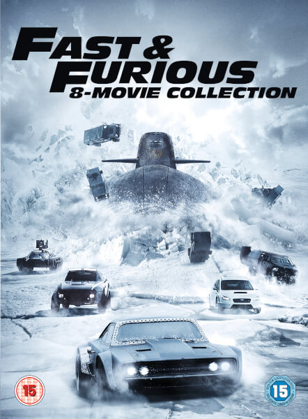 Fast & Furious 8-Film Collection (Digital Download)