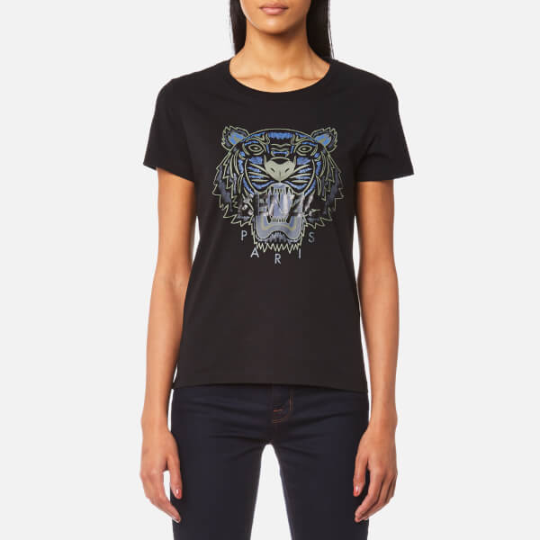 KENZO Women's Tiger Classic T-Shirt - Black