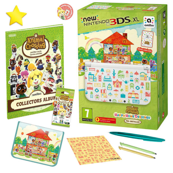 New Nintendo 3DS XL Creative Collection Pack