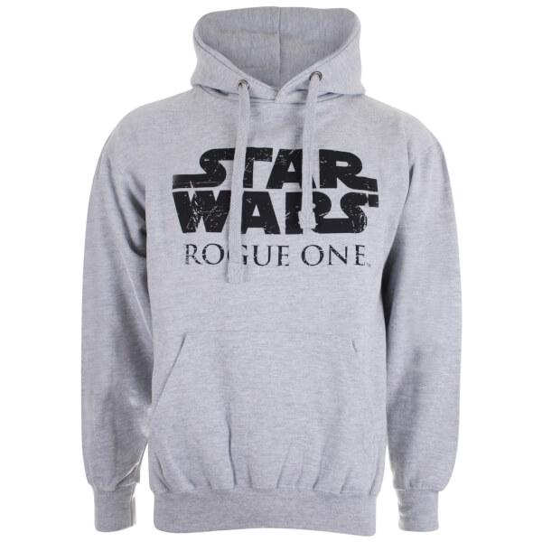 Star Wars Men's Logo Hoody - Grey Marl