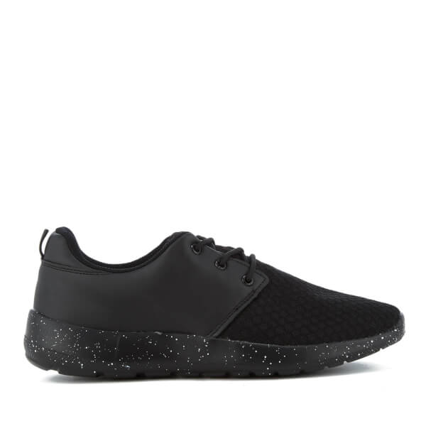 Brave Soul Men's Trance Trainers - Black