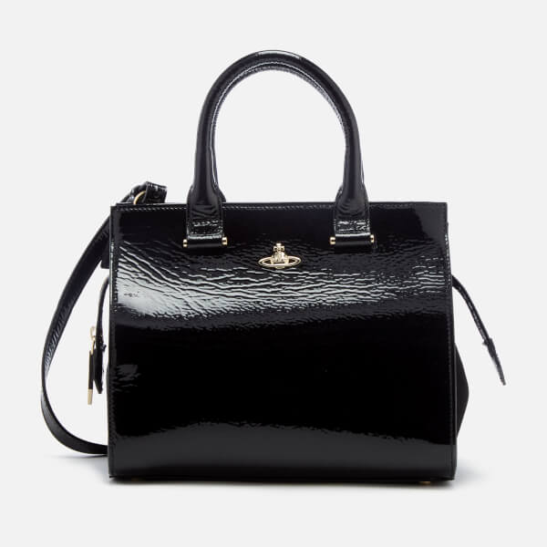 Vivienne Westwood Women's Margate Top Handle Tote Bag - Black