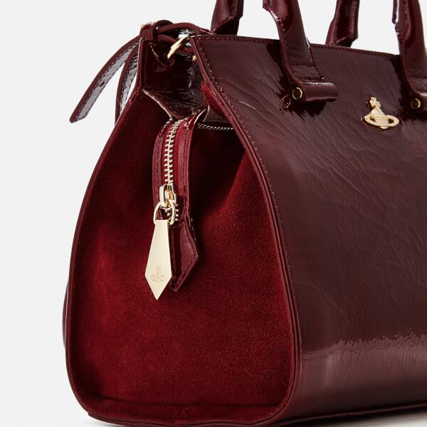 1614c3dea56 Vivienne Westwood Women's Margate Top Handle Tote Bag - Bordeaux: Image 4
