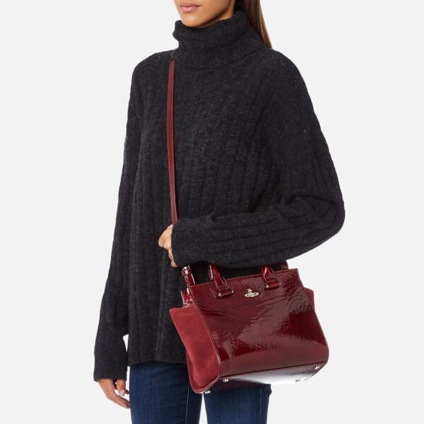 1a043a5f5d5 Vivienne Westwood Women's Margate Top Handle Tote Bag - Bordeaux: Image 3