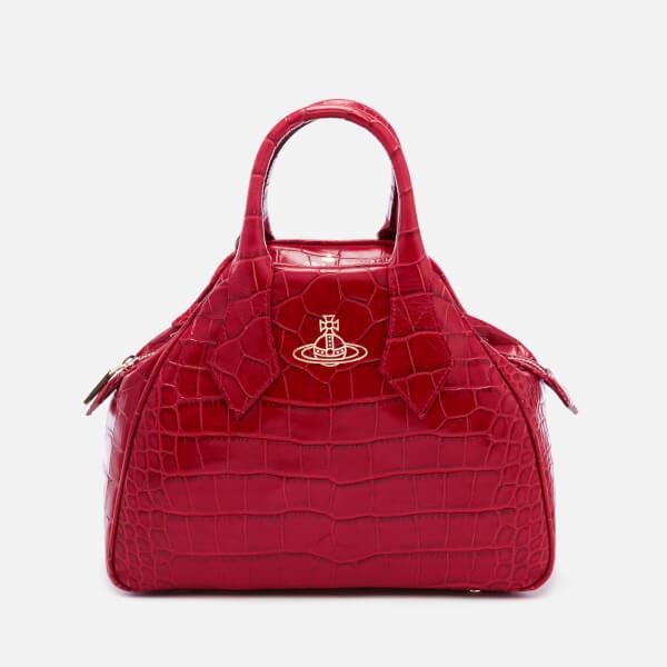 Vivienne Westwood Women's Yasmine Croc Print Handbag - Red Daliah