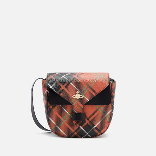 Vivienne Westwood Women's Edinburgh Check Print Small Cross Body Bag - Charlotte