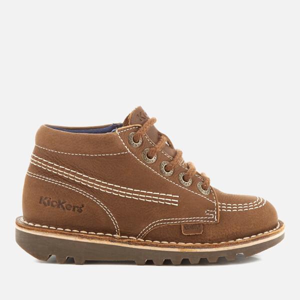 Kickers Kids' Kick Hi Boots - Brown