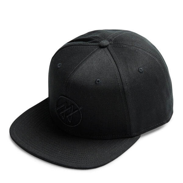 Jack & Jones Men's Core Circle Snapback Cap - Black