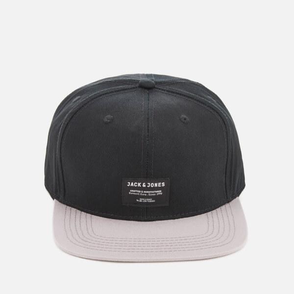Jack & Jones Core Men's Camon Snapback Cap - Black