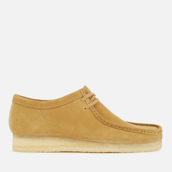 Clarks Originals Men's Wallabee Shoes - Dark Ochre Suede