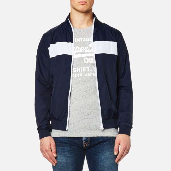 Superdry Men's Academy Club House Jacket - Navy
