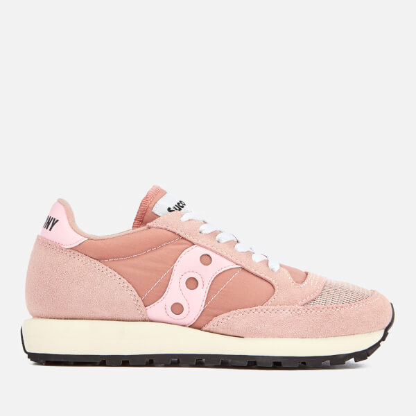 Saucony Women's Jazz Original Vintage Trainers - Pink/Berry