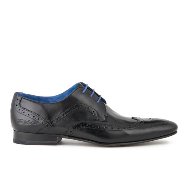 Ted Baker Men's Oakke Leather Brogue Derby Shoes - Black