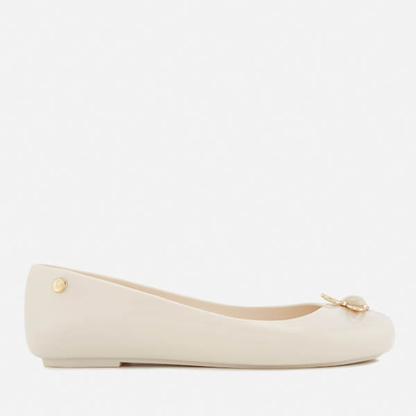 Vivienne Westwood for Melissa Women's Space Love 18 Ballet Flats - Ivory Pearl Orb