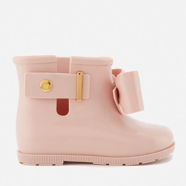 Mini Melissa Toddlers' Sugar Rain Bow 18 Boots - Blush