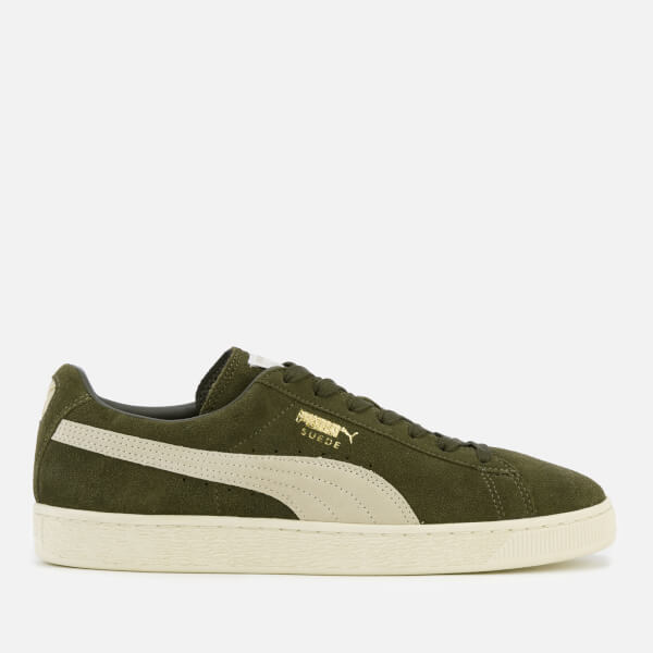3d63f1844111 Puma Men s Suede Classic + Trainers - Olive Night Birch  Image 1