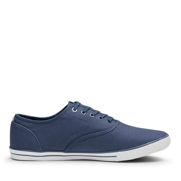 Jack & Jones Men's Scorpion Canvas Pumps - Navy Blazer
