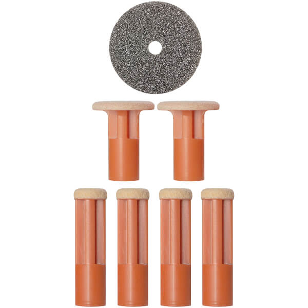 PMD Coarse Replacement Discs - Orange
