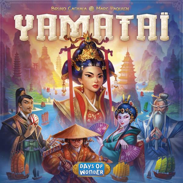 Yamatai Strategy Board Game