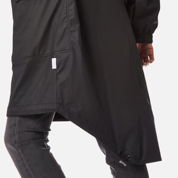 RAINS Parka - Black Womens Clothing | TheHut.com