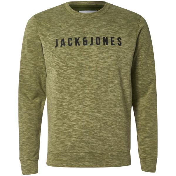 Jack & Jones Men's Core Pase Sweatshirt - Capulet Olive